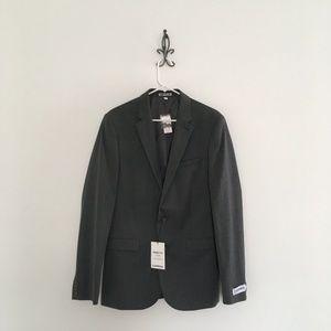 Express Innovator Skinny Fit Wool Jacket Size 38L